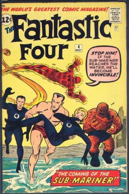 Fantastic Four#4