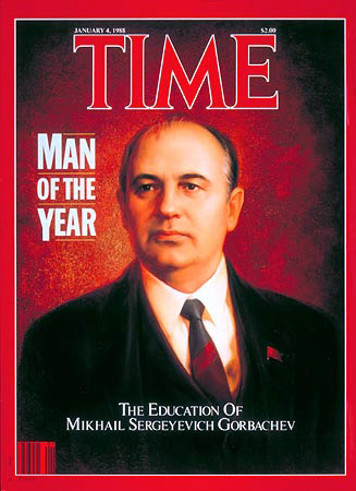 Gorbachev on Time magazine