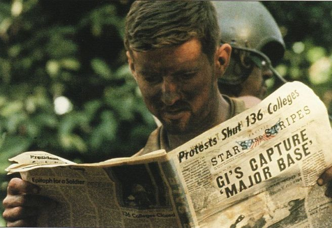 U.S. soldier in Cambodia catches up on all the good news