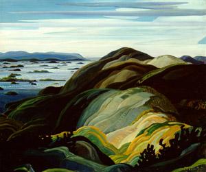 Bay of Islands, by Franklin Carmichael (1931)