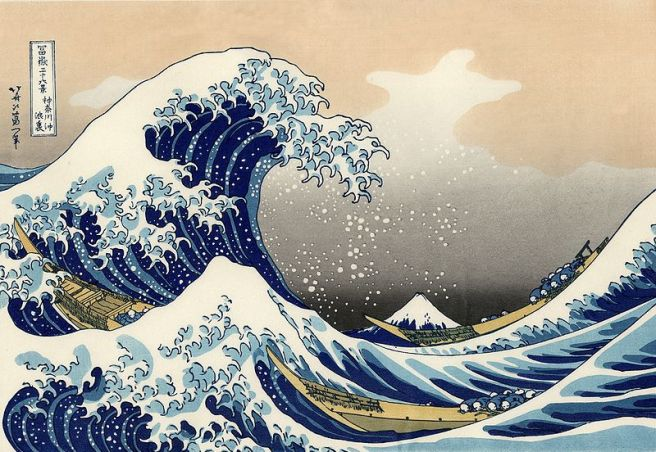 The Great Wave Off Kanagawa, by Katsushika Hokusai