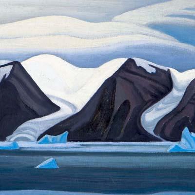 Nerke, Greenland, by Lawren Harris