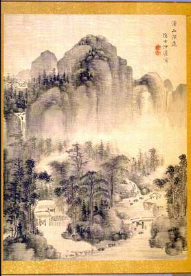 Untitled, by Nakabayashi Chikuto (1830)