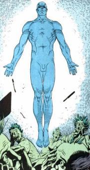 Image result for dr manhattan comic penis