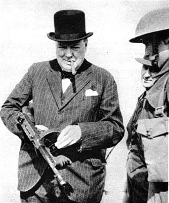 Winston Churchill: a cool man with a quip.