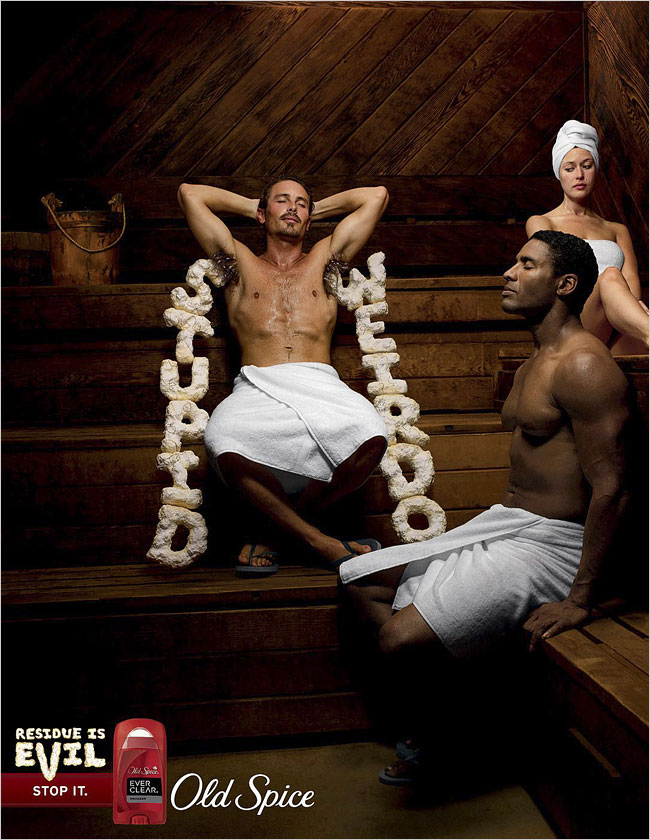Old Spice Deodorant Ads