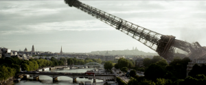 Toppling the Eiffel Tower: a common fantasy.