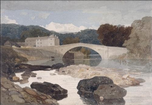 """""""Greta Bridge"""", by John Sell Cotman (1807)"""