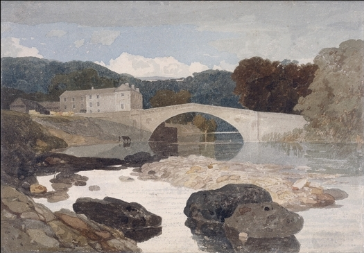 """Greta Bridge"", by John Sell Cotman (1807)"